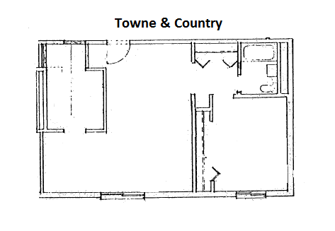Town & Country Floor Plan